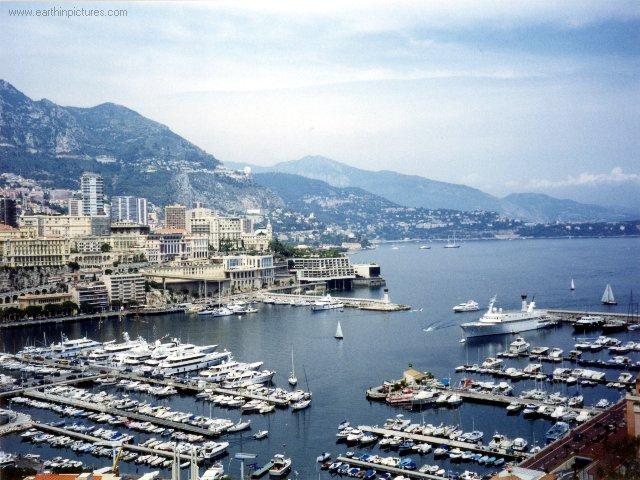 Vista do Porto de Mónaco ( 640x480 )