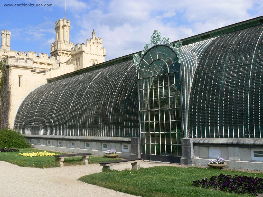 Greenhouse of the Lednice Castle ( 1024x768 )