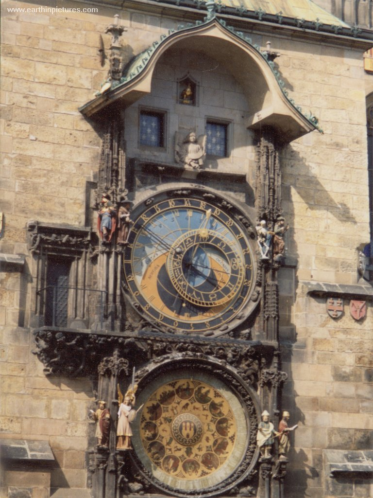 Prague Astronomical Clock (Prague Orloj) ( 768x1024 )