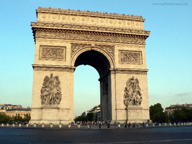 Arc de Triomphe - pictures, photos, facts and information on Arc ...