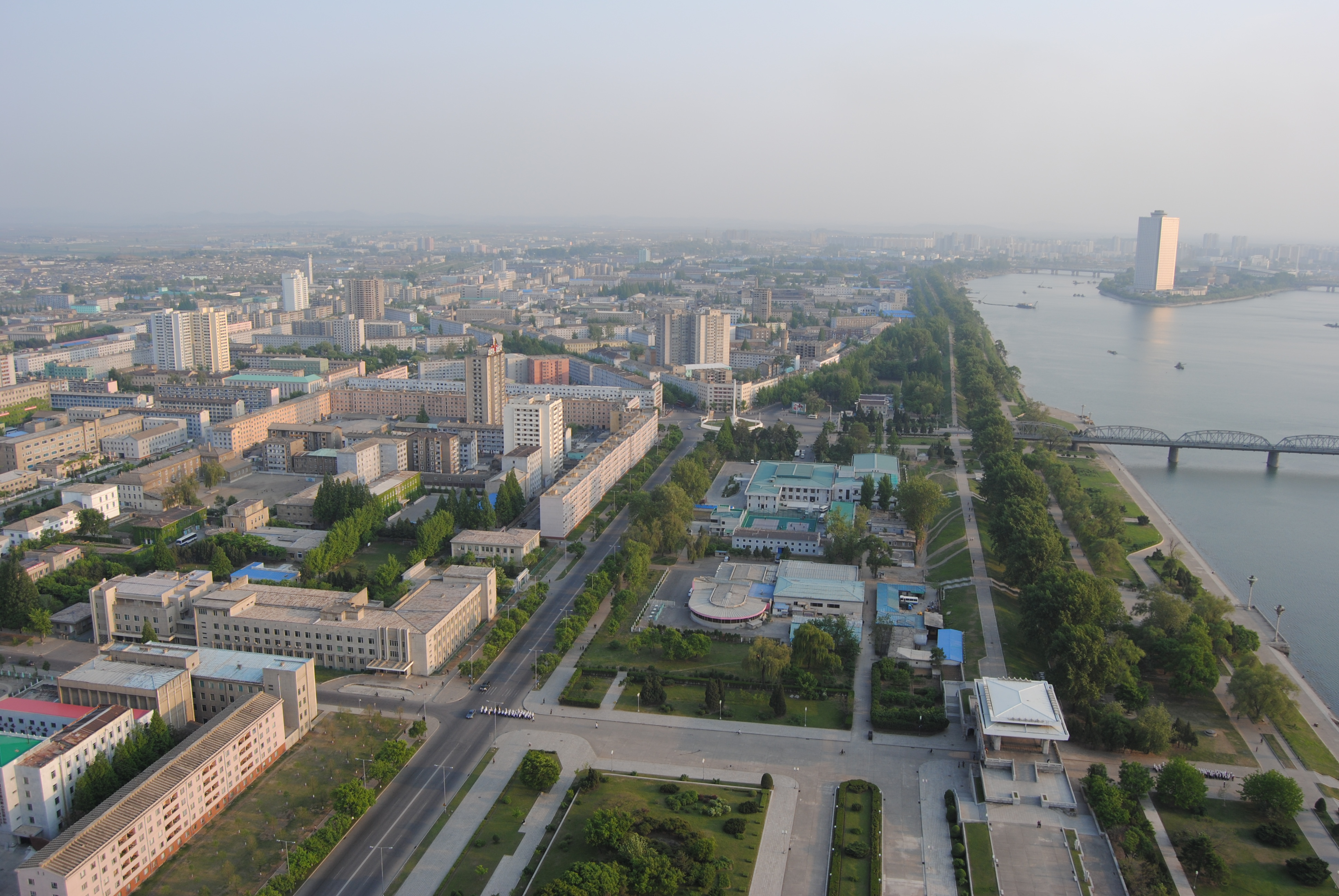 View from Juche Tower - north view ( 640x480 )