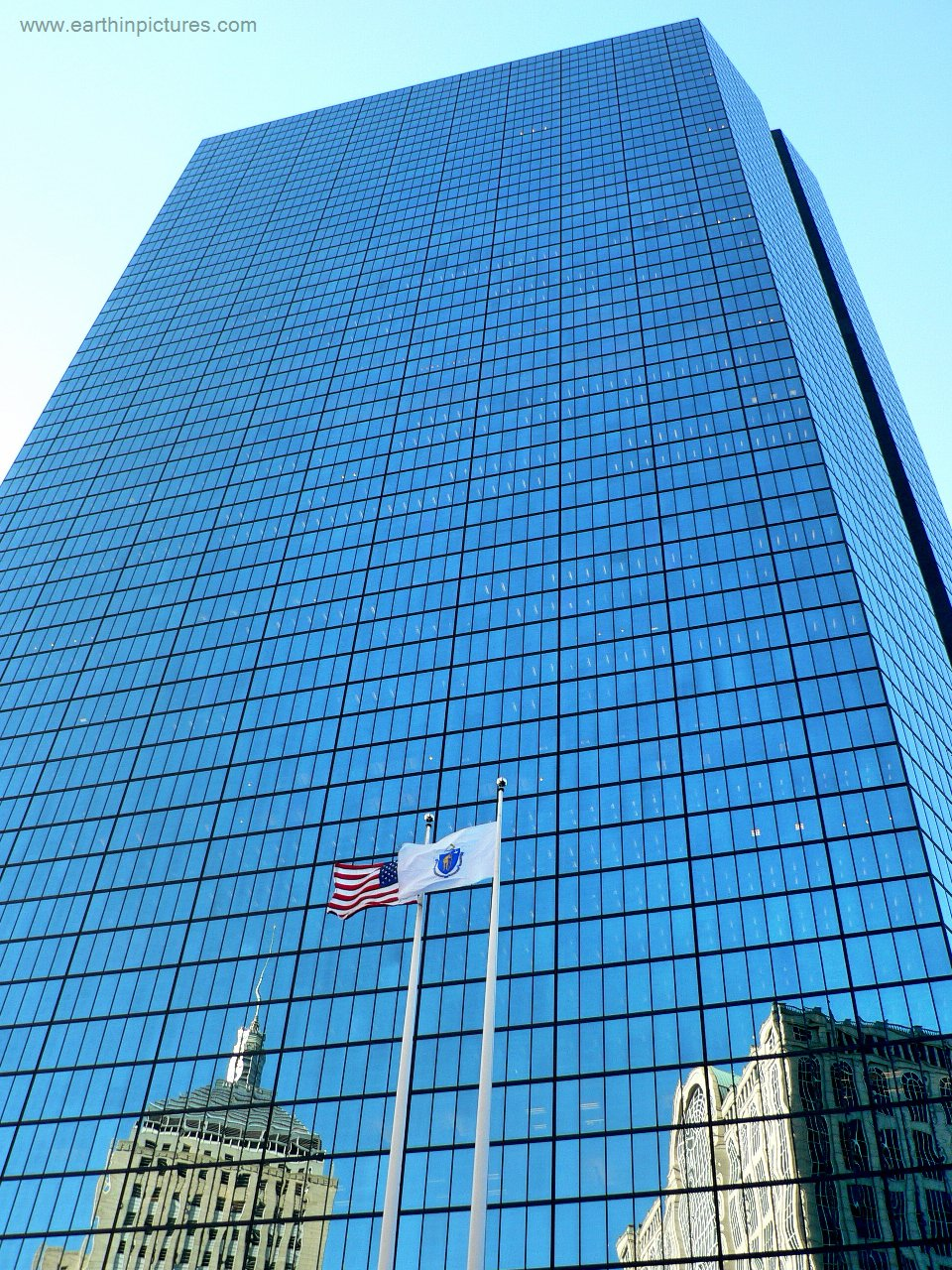 John Hancock Tower - view from bottom ( 960x1280 )