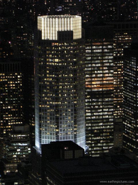 Bear Stearns building at night ( 480x640 )