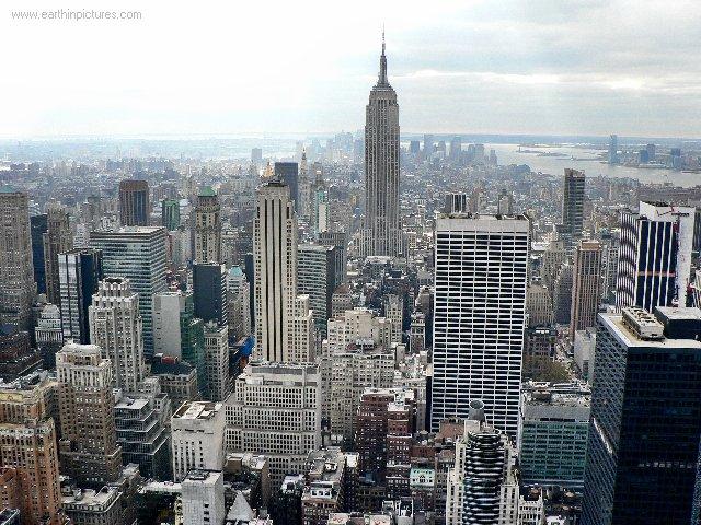 Pics Of New York Skyline. New York skyline - view from
