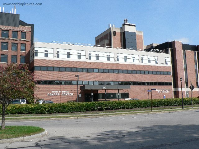 James P Wilmot Cancer Center and University of Rochester Eye Institute building ( 640x480 )